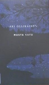 Kirjavarkaan tunnustuksia -kirjablogi: Aki Ollikainen - Musta satu