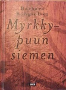 Kirjavarkaan tunnustuksia -kirjablogi: Barbara Kingsolver - Myrkkypuun siemen