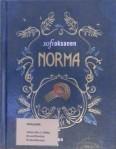 Kirjavarkaan tunnustuksia -kirjablogi: Sofi Oksanen - Norma