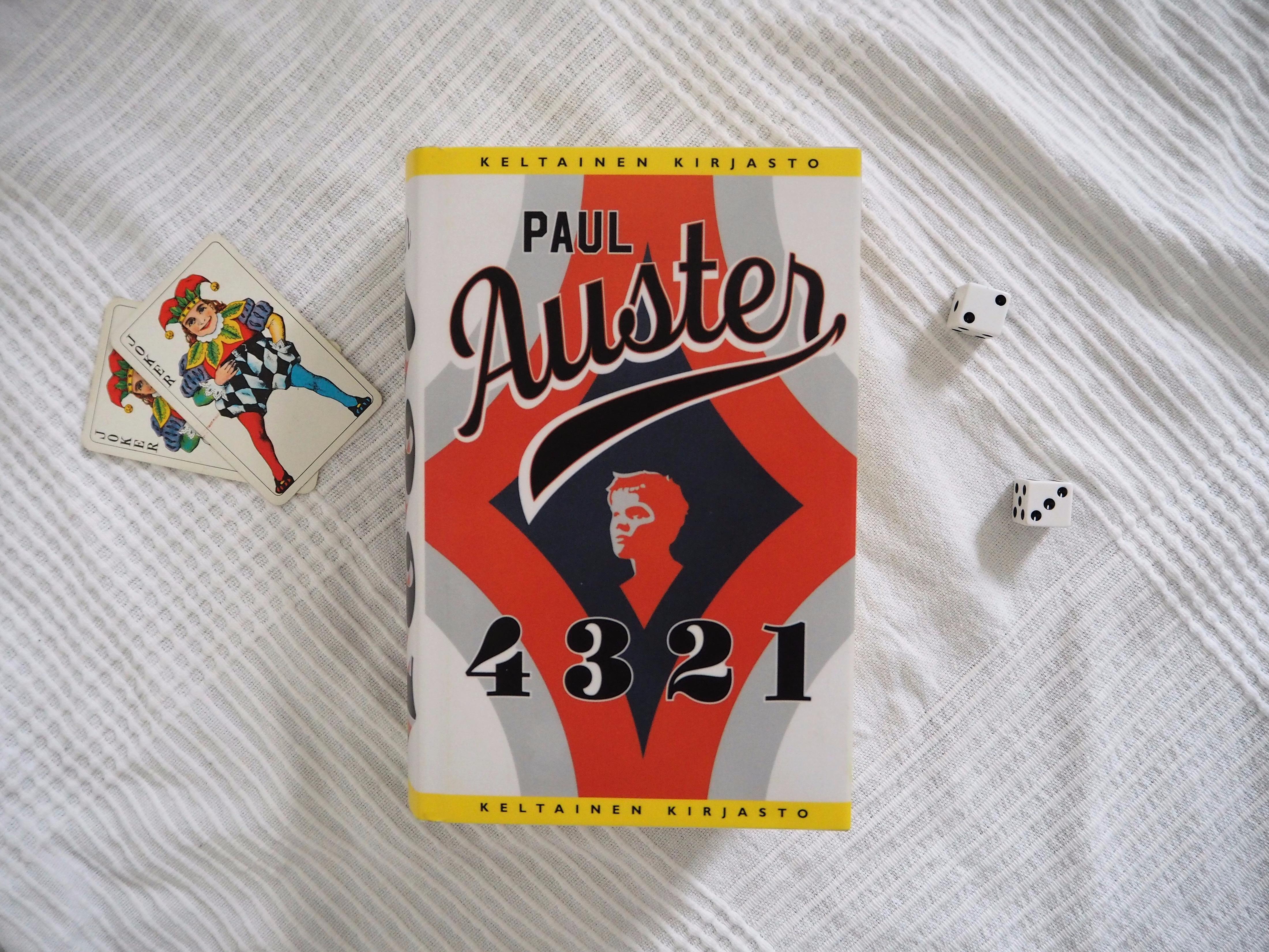 paul auster 4 3 2 1 kirjablogi arvostelu