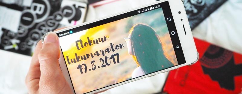 elokuun lukumaraton kesälukumaraton 2017