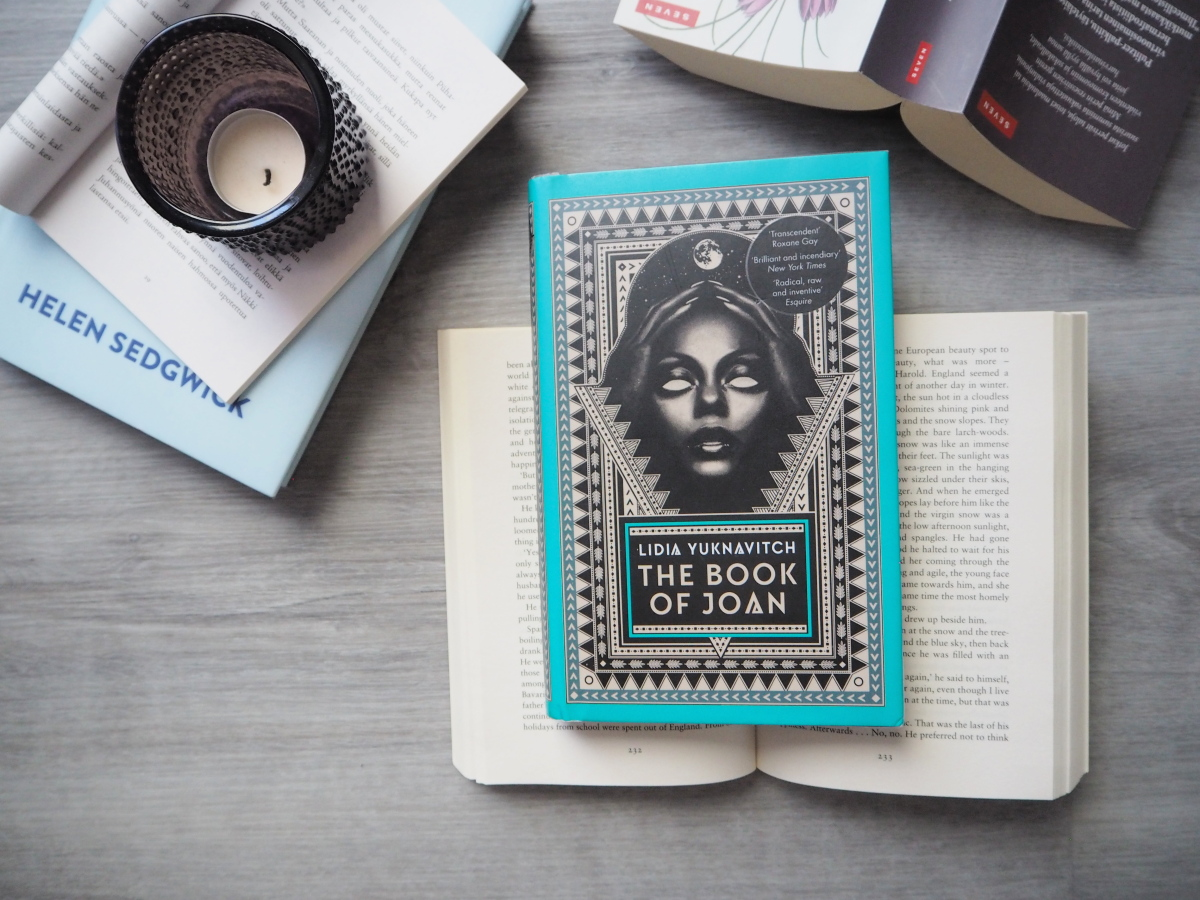 lidia yuknavitch the book of joan kirjablogi arvostelu
