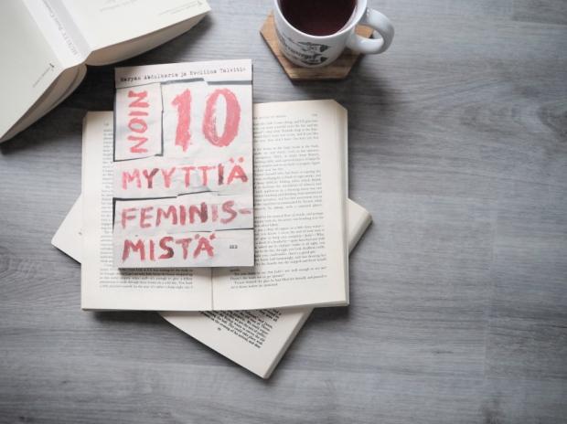 maryam abdulkarim eveliina talvitie noin 10 myyttiä feminismistä kirjablogi arvostelu