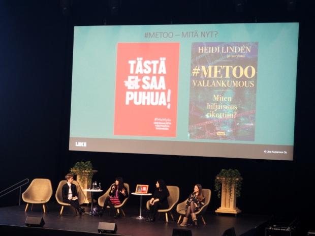 Helsingin kirjamessut: #metoo -keskustelu